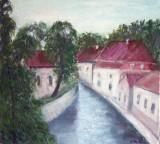 Peisaj dinPraga  (colectie particulara)