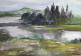 Peisaj pe Nistru-Basarabia  (colectie autor)