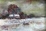 Iarna in Delta ( colectie autor)