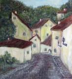 Strada din Hradcany-Praga  (colectie particulara)