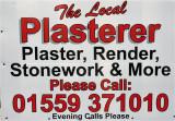 Plasterer.