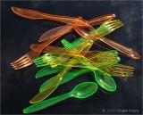 Plastic still life.
