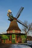 Historic Windmill in Eddelak