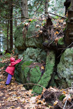 Annika and the monster rock
