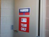 Fabrizio's garage door