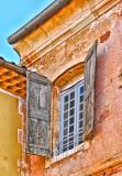 Colorful Window, Roussilon
