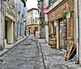Back Street in Avignon