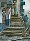 Cesky Krumlov: Stairway