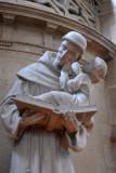 Statue of St. Anthony of Padua, Saint-Étienne-du-Mont