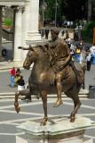 Equestrian statue of Marcus Aurelius, Piazza del Campidoglio