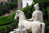 The Dioscuri, Piazza del Campidoglio