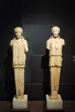 A pair of Caryatids, Sale degli Horti di Mecenate