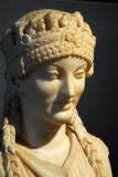Herm of a Caryatid, Augustan age, Sale degli Horti di Mecenate