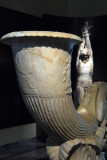 Fountain in the form of a rhyton (horn-shaped drinking cup) signed by Pontios