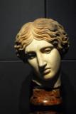 Head of an Amazon from a bronze original of Ephesus ca 440 BC, Sale degli Horti di Mecenate