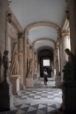 Lobby on the ground floor of the Capitoline Museum