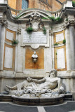 Fountain in the courtyard of the Museo Capitolino installed in 1644