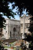 Arch of Septimius Severus 203AD commemorating the Parthian victories
