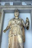 2nd C. BC statue of Minerva, Museo Capitolino Atrium
