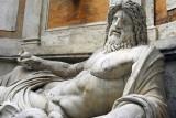 1st-2nd C. AD colossal statue retored as Oceanus Marforio