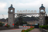 Gate to Sentosa Island, Singapore