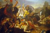 The Battle of Vercellae by Giovanni Battista Tiepolo, ca 1725