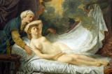 Aegina visited by Jupiter by Jean Baptiste Greuze, ca 1767
