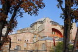 The Haigia Sophia was a church for almost 1000 years, then a mosque for nearly 500 years and is now a museum