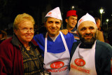 Mom with the Kebabers, Sultanahmet (Istanbul)