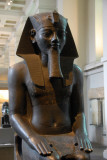 Amenophis III at the entrance to the British Museum's Egyptian and Sudanese Galleries