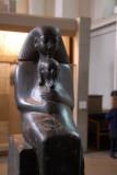 Statue of Senenmut and Neferura, 18th Dynasty, ca 1480 BC Karnak
