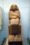 Quartzite statue of Ankhrekhu, 12th Dynasty, ca 1850 BC