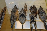 Painted shields of the Elema people from Papua New Guinea
