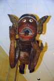 Hentakoi - wooden figure used to ward off evil, Nicobar Islands, Bay of Bengal