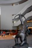 Sacred Rain Arrow sculpture in the Atrium, Allan Houser, 1988