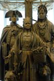 Allies in War, Partners in Peace sculpture