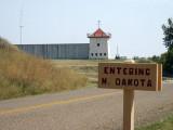 Entering North Dakota - Fort Union Trading Post NHS