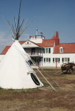 Teepee at Fort Union Trading Post