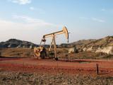 Oil Well, Elk Horn Oil Field, North Dakota