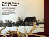 Maltese Cross Ranch House, Theodor Roosevelt National Park, ND
