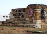 Leaving the South Unit of Theodore Roosevelt National Park - Medora, North Dakota