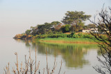 Lake Tana shoreline near the Tana Hotel