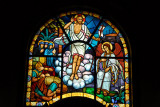 Holy Trinity Cathedral, Addis Ababa stained glass - The Resurrection