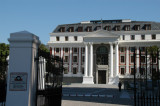 Eastern facade of the South African Parlianment, Plein Street