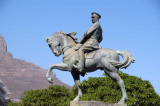 Equestrian staue of Louis Botha, St. John's Street, Cape Town