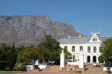South African National Museum with Table Mountain