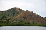 Signs of deforestation on Uson Island, Calamianes