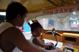 From El Nido, we took a tricycle to Corong-Corong, a short ride south