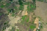 Farmland in the middle of suburbia, Cavite, Philippines (N14.424/E120.981)