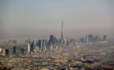 Burj Dubai and the Sheikh Zayed Road skyline
